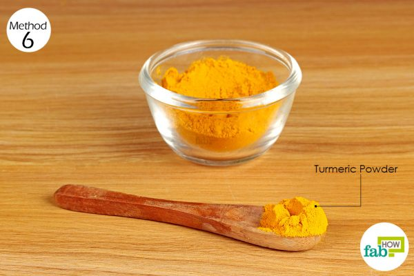 Take turmeric daily to get rid of stomach ulcers