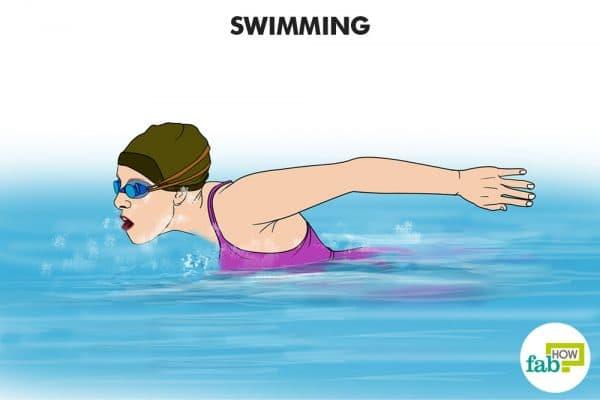 swimmin can help control diabetes