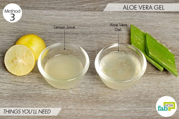 Aloe vera to lighten skin