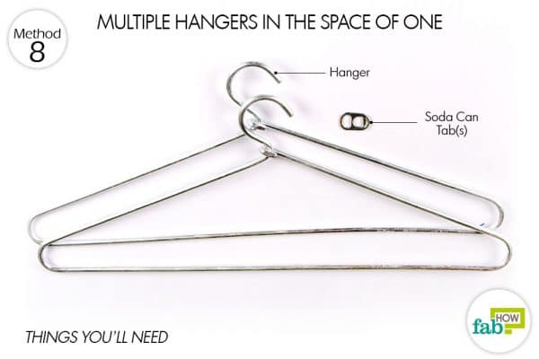 things needed to have multiple hangers in one space