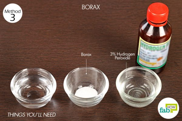 things you'll need to use borax to get rid of rosacea