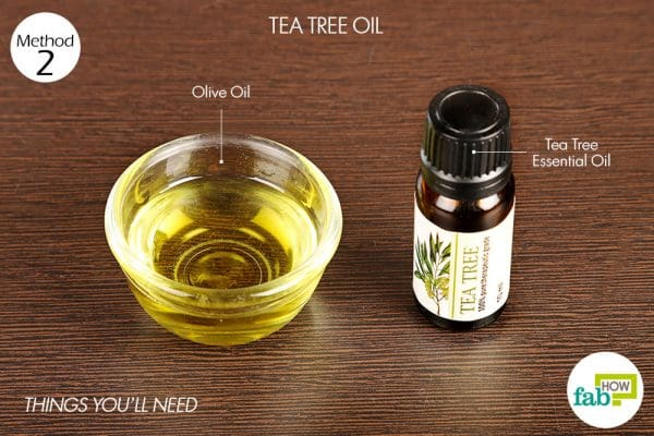 things you'll need to use tea tree oil to get rid of rosacea