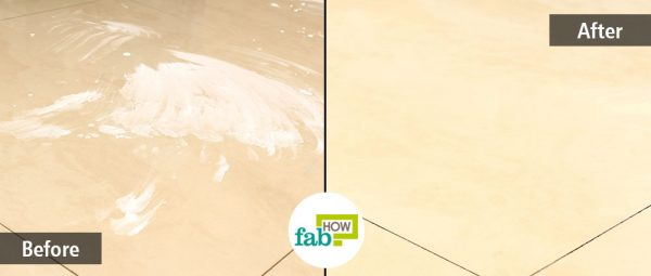 Use simple home ingredients to clean your tiles for a spotless floor