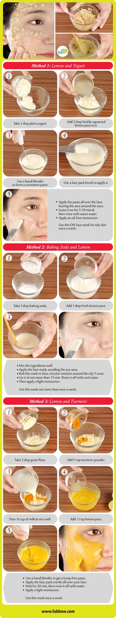 Best DIY Face Masks for Oily Skin Summary