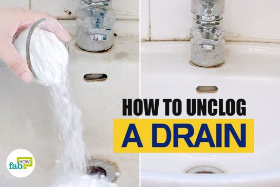 feat how to unclog a drain