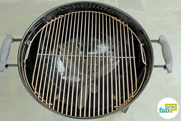 You can now take out and use your spotless grill for barbeque parties