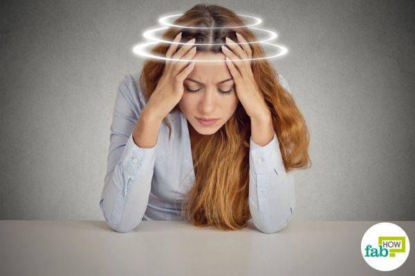 Recurring dizziness can be a symptom of vertigo