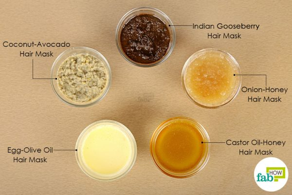 Make your own DIY natural hair mask for fast and healthy hair hair growth