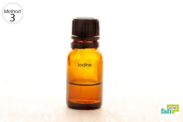 take 2 drops of 5% Lugol's iodine daily to shrink your fibroids to get rid of fibroids