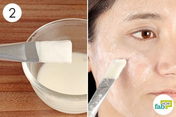 Apply the baking soda–lemon face pack once weekly diy face mask for oily skin