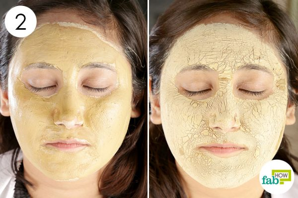 Apply the clay face pack once a week to get rid of oily skin diy face mask for oily skin