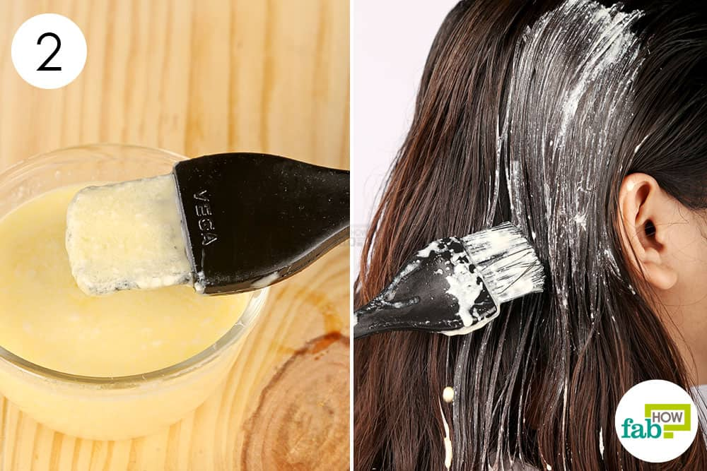 Homemade Ringlets Pack To Preclude Hair Loss