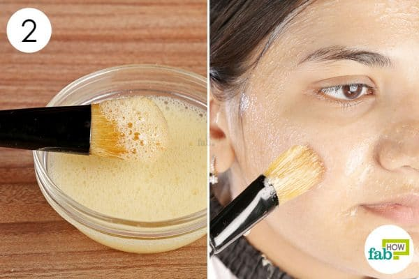 Apply the aloe–honey mix on your face 3 to 4 times a week to get oil-free skin diy face mask for oily skin