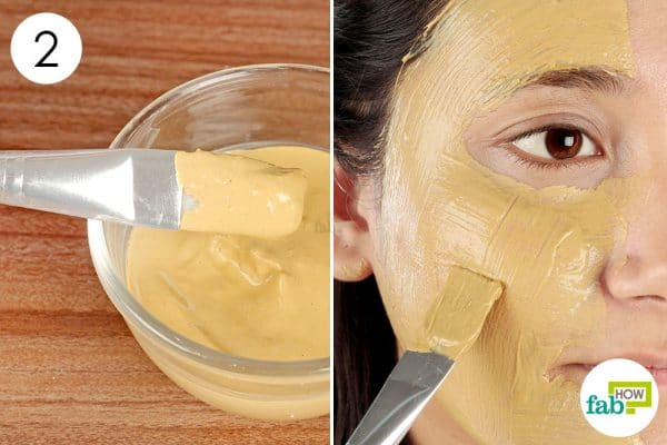 Apply the cucumber face pack once weekly diy face mask for oily skin