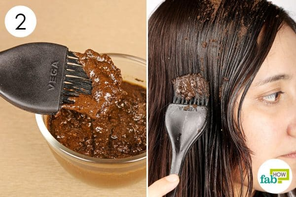 Apply this natural hair mask once a week for extreme hair growth