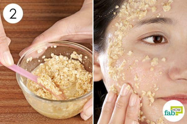 Apply the face mask once weekly diy face mask for oily skin