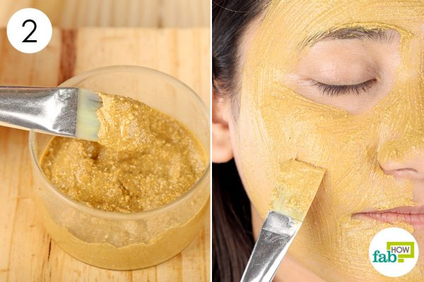 Apply this face mask 3 to 4 times a week to get smooth glowing skin to make a diy face mask for blackheads