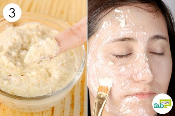 Mix well and apply this scrub 2 to 3 times a week to successfully remove blackheads to make a diy face mask for blackheads