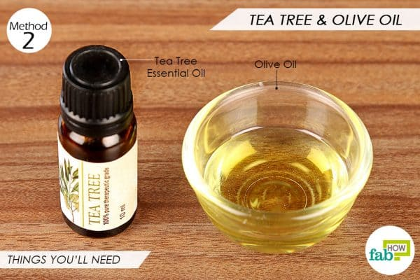 things you'll need to use tea tree oil to get rid of seborrheic dermatitis