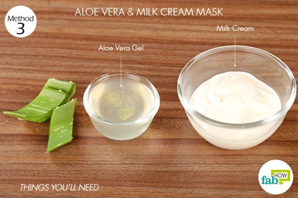 Things you'll need for DIY face masks for dry skin