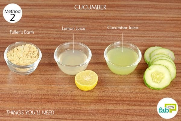 Things you'll need for face mask for oily skin