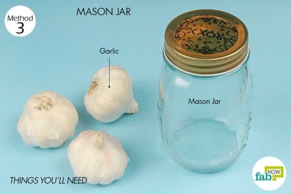 Things you'll need to peel garlic