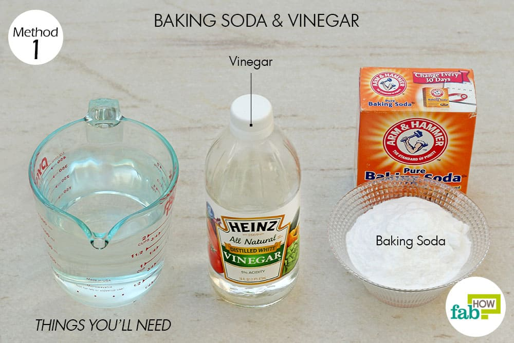 Attractive Things Youu0027ll Need To Use Baking Soda And Vinegar To Unclog A Drain