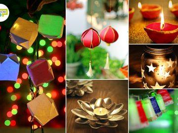 Best DIY Decoration Ideas to Brighten Up Your Homes This Diwali