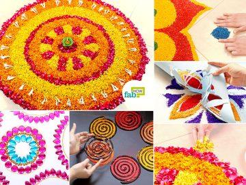 DIY Easy Hacks to Make Stunning Rangoli Designs This Diwali
