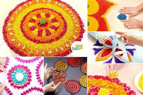 DIY Easy Hacks to Make Stunning Rangoli Designs This Diwali