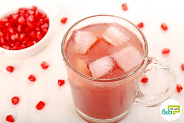 Consume pomegranate juice daily to get rid of anemia