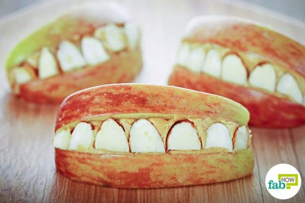 final apple teeth halloween treats