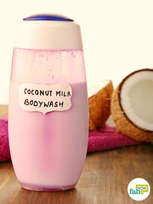 final make diy coconut body wash