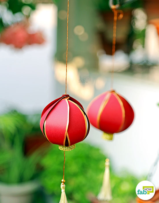 Decorate your homes using these DIY Chinese lanterns this Diwali