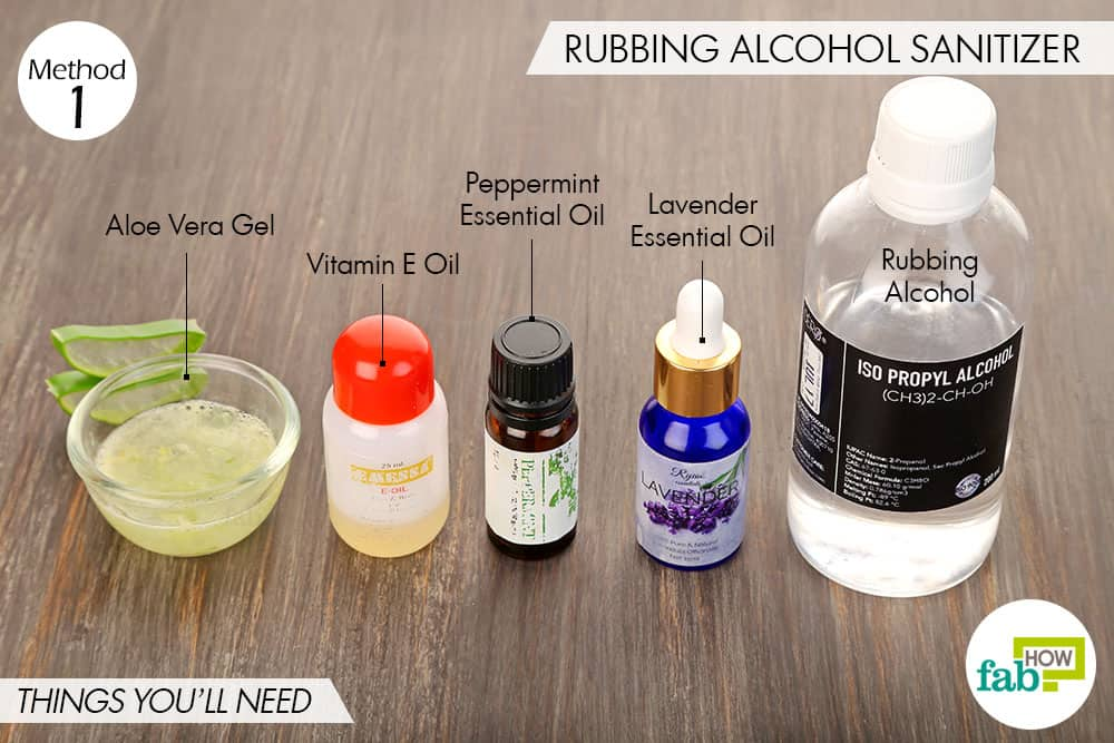How To Make Diy Hand Sanitizer 4