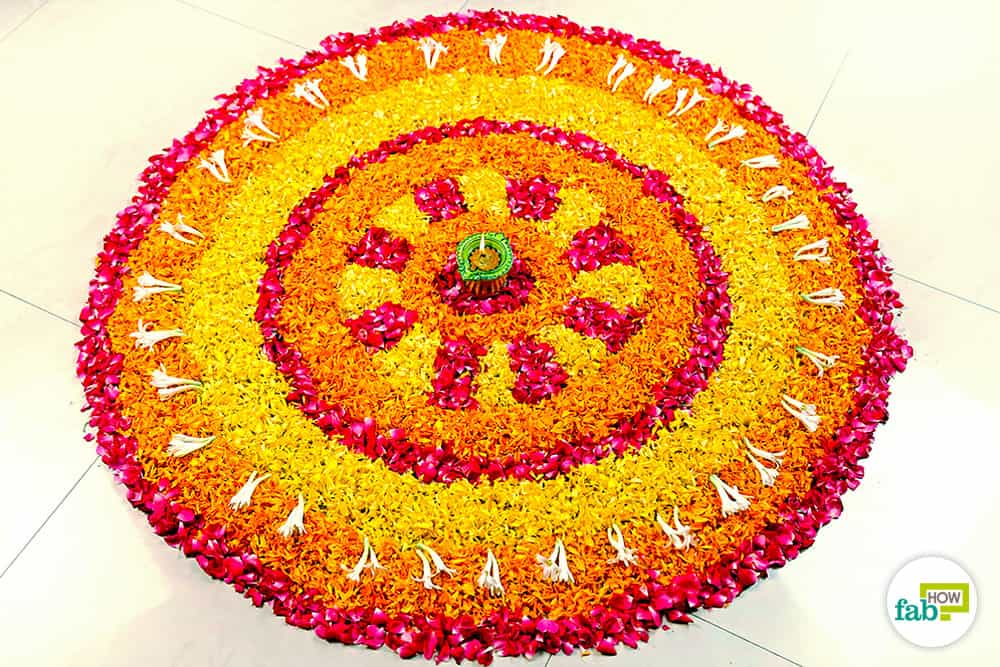 Create A Fresh And Fragrant All Natural Rangoli Design For Your Home This  Diwali