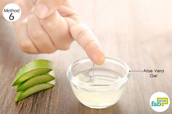 Apply fresh aloe vera gel on the affected area and massage it gently to get rid of acne inversa