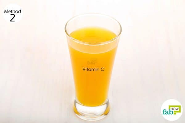 drink orange juice to get rid of anemia