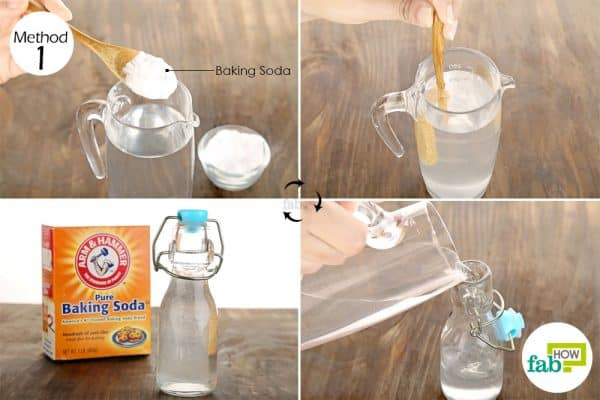 Rinse your mouth with baking soda solution to get rid of burning mouth syndrome
