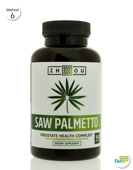 Consume Saw Palmetto dialy to help treat PCOS