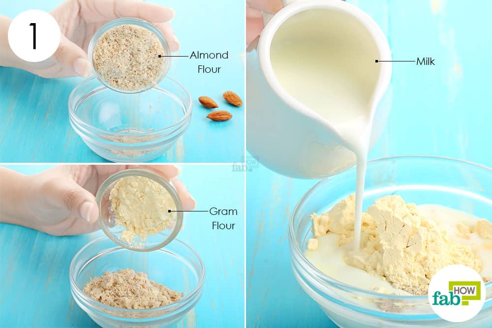 Almond facial recipe