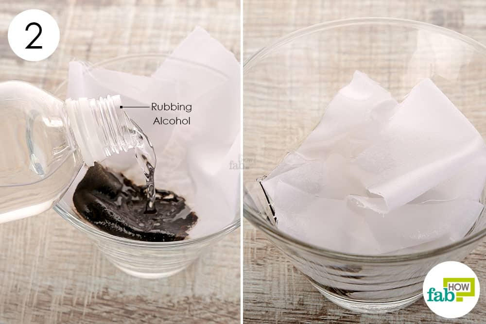 Get Ink Out Of Clothes Rubbing Alcohol