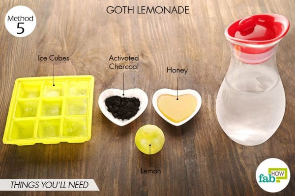 things you'll need to make goth lemonade halloween treats