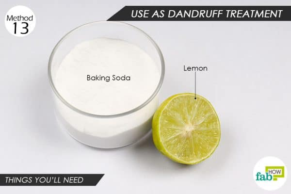 things you'll need to use baking soda for hair and skin