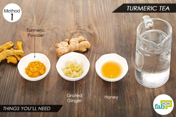 things you'll need to use turmeric for arthritis