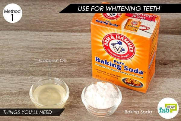 how to make hair bleach with baking soda