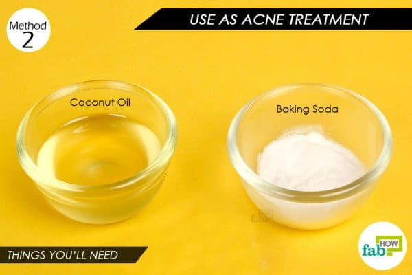 Things you'll need to make a paste to use baking soda for hair and skin