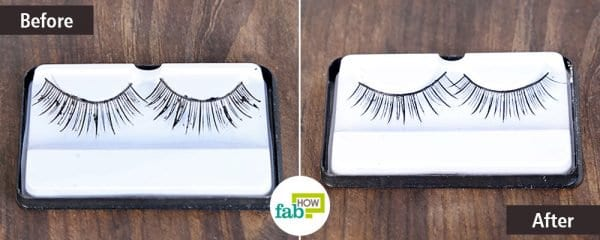 Use coconut oil to clean your eyelashes
