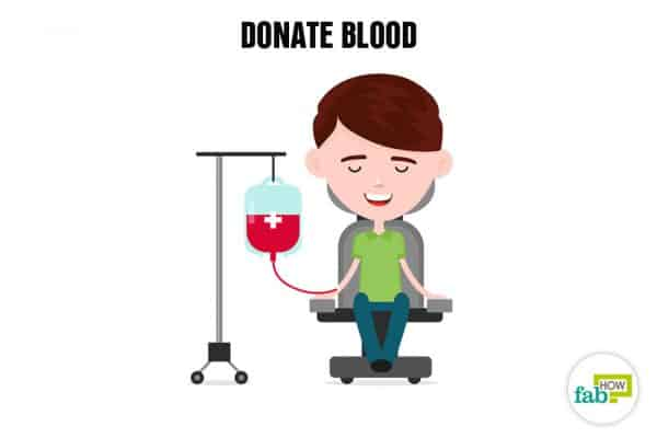 Create your bucket list and donate blood to save a life