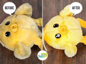 feat how to clean stuffed toys